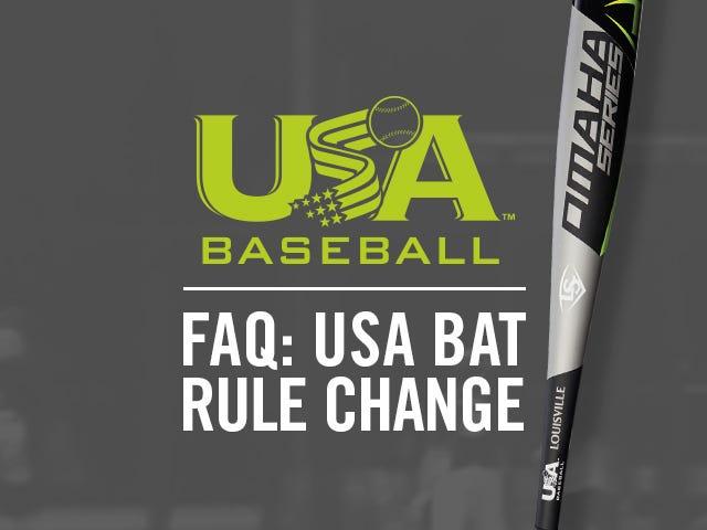Omaha Series USA Baseball Bat | USA Baseball | Louisville Slugger
