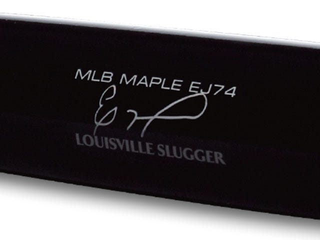 Custom Jimenez Signature End Brand on Bat