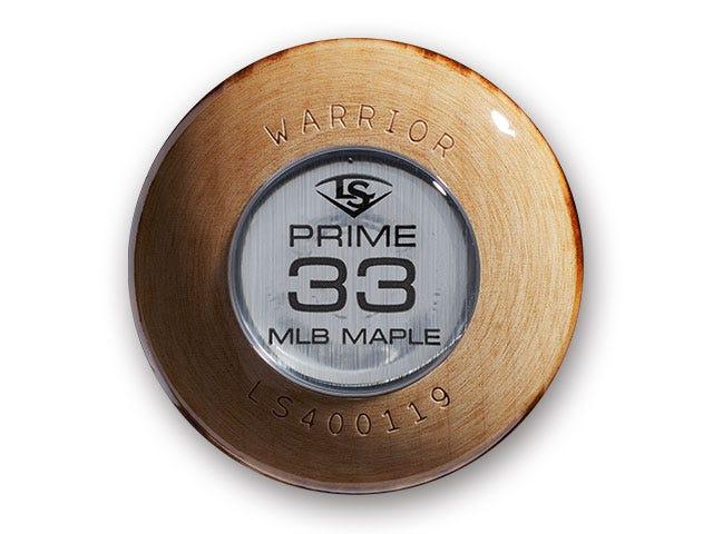 MLB Prime Maple U47 Warrior Knob Medallion