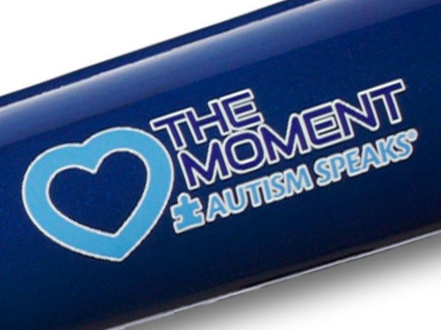 Love the Moment Back Brand on Bat Barrel