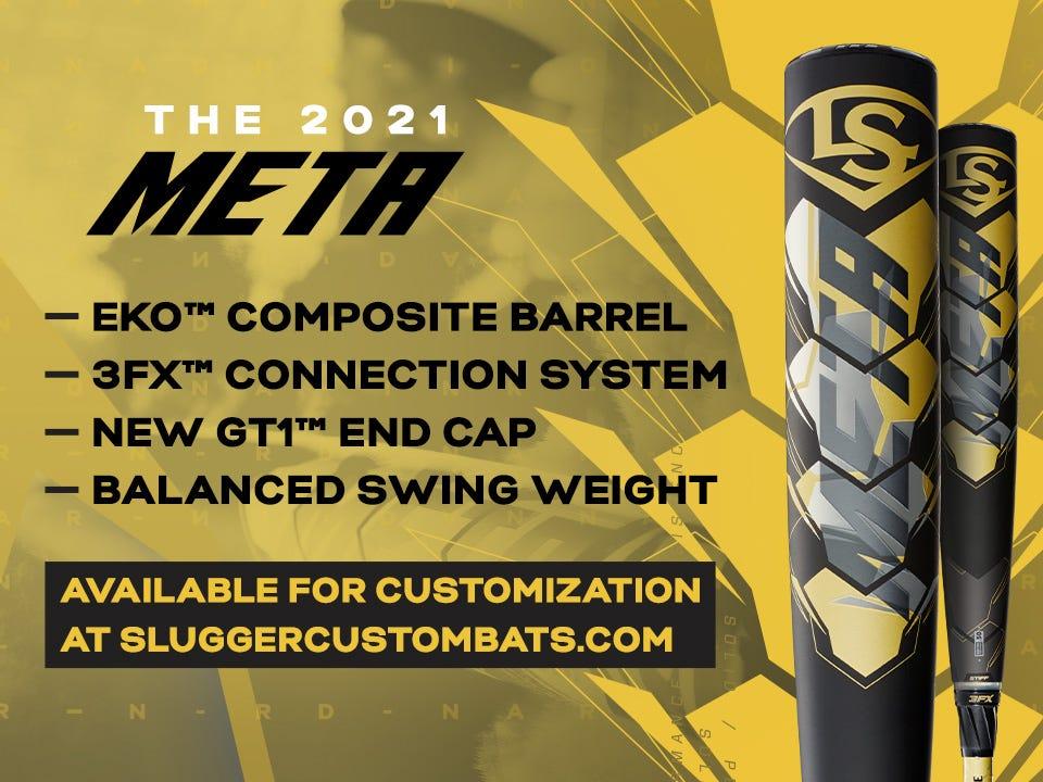 2021 Meta with EKO composite barrel, 3FX connection system, and balanced swing weight. Click to learn more.