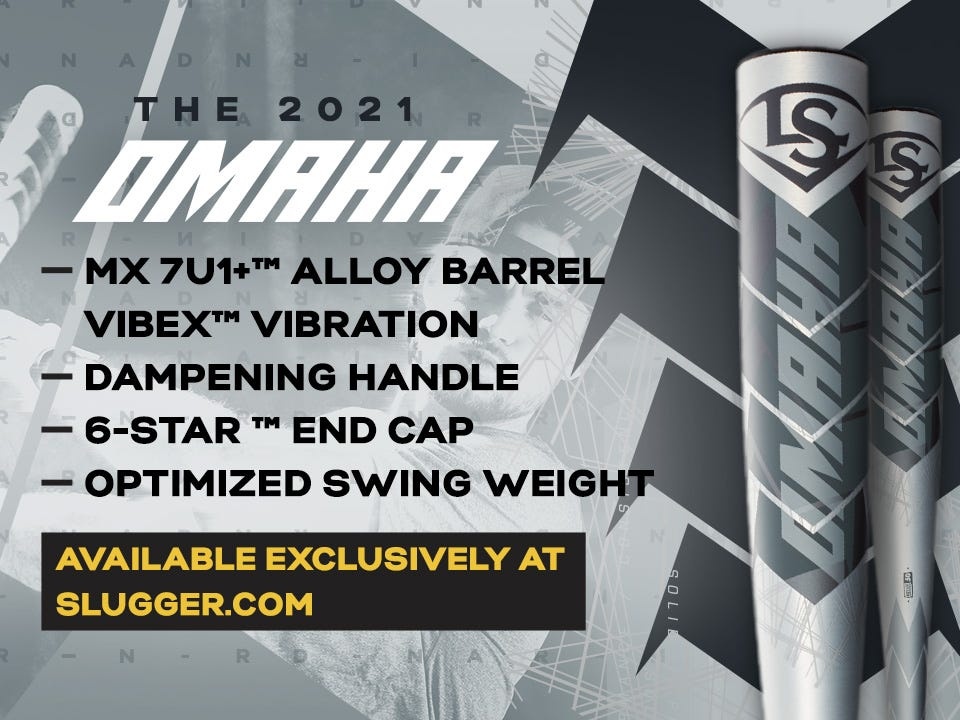 2021 Omaha MX 7U1+ Alloy Barrel, Dampening handle, and optimized swing weight. Click to learn more.