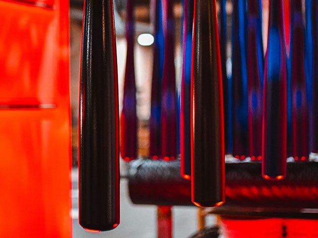 image of baseball bats