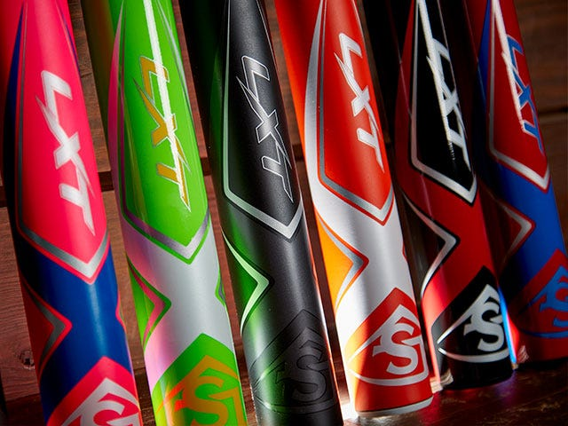 Custom LXT Fastpitch Softball Bats