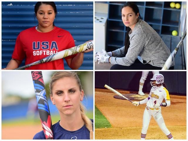 Louisville-Slugger-Athletes-Unlimited-Kelsey-Stewart-Aubree-Munro-Courtney-Gano-Aliyah-Andrews-fastpitch-softball