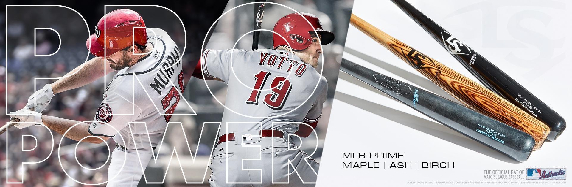 MLB Prime Wood Baseball Bats | Louisville Slugger