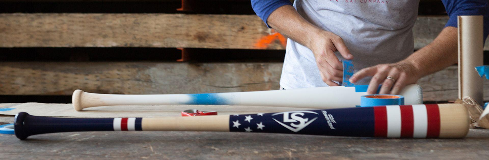 Video of A collaboration in craftsmanship: Louisville Slugger and Mitchell Bat Co.
