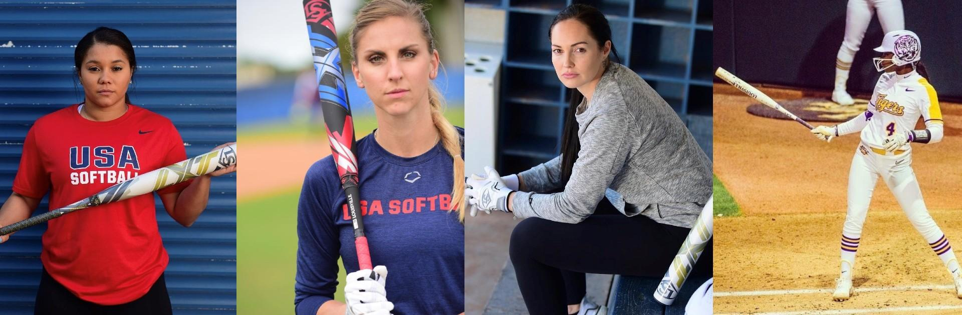 Louisville-Slugger-Athletes-Unlimited-Kelsey-Stewart-Aubree-Munro-Courtney-Gano-Aliyah-Andrews