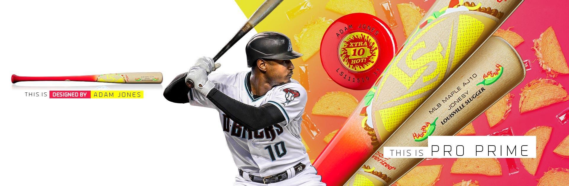 Adam Jones' Pro Prime Baseball Bat
