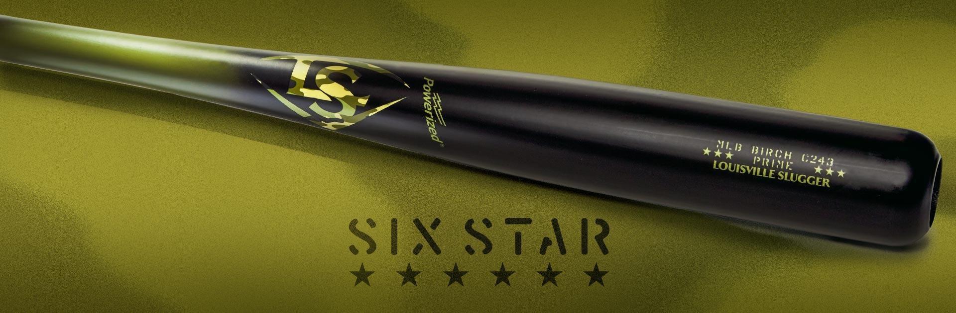 MLB Prime Limited Edition C234 Six Star Baseball Bat