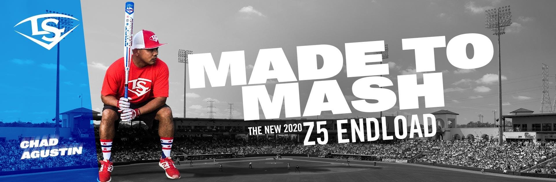 Made to Mash. The New 2020 Z5 Endload Slowpitch Softball Bat.