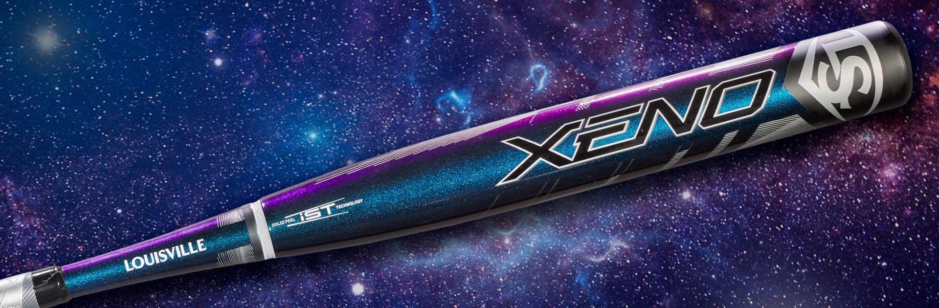 Xeno LTD Twilight bat against galaxy background