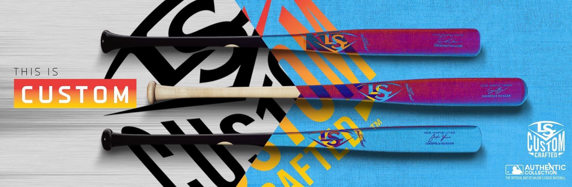 Customized MLB Baseball Bats