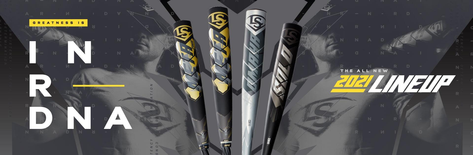 Greatness is in our DNA. Shop the new 2021 Louisville Slugger Baseball Bats.
