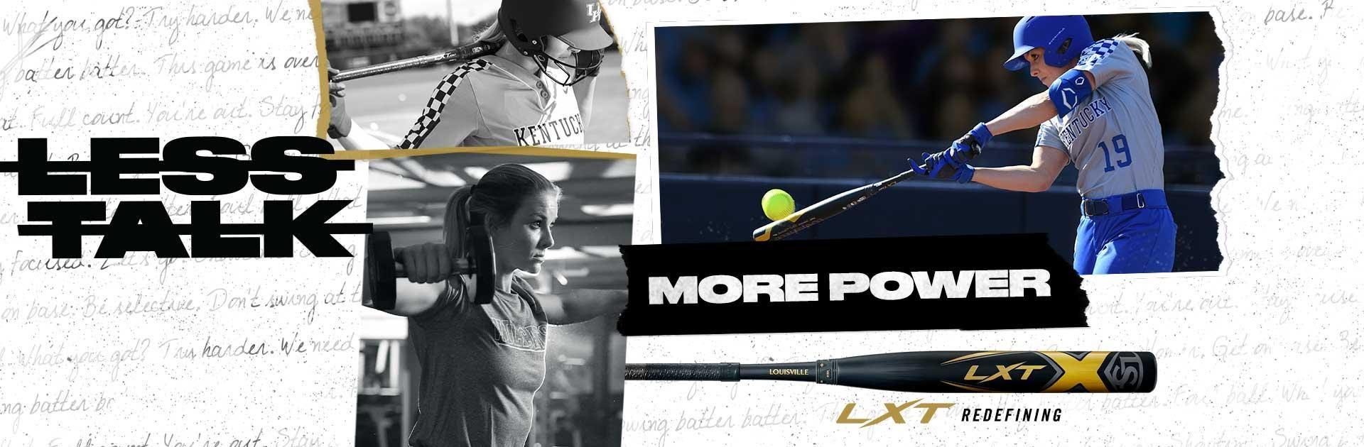 Louisville Slugger LXT Fastpitch Softball Bats | Less Talk. More Power.