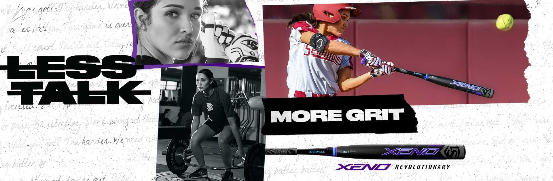 Louisville Slugger Xeno Fastpitch Softball Bats | Less Talk. More Grit.
