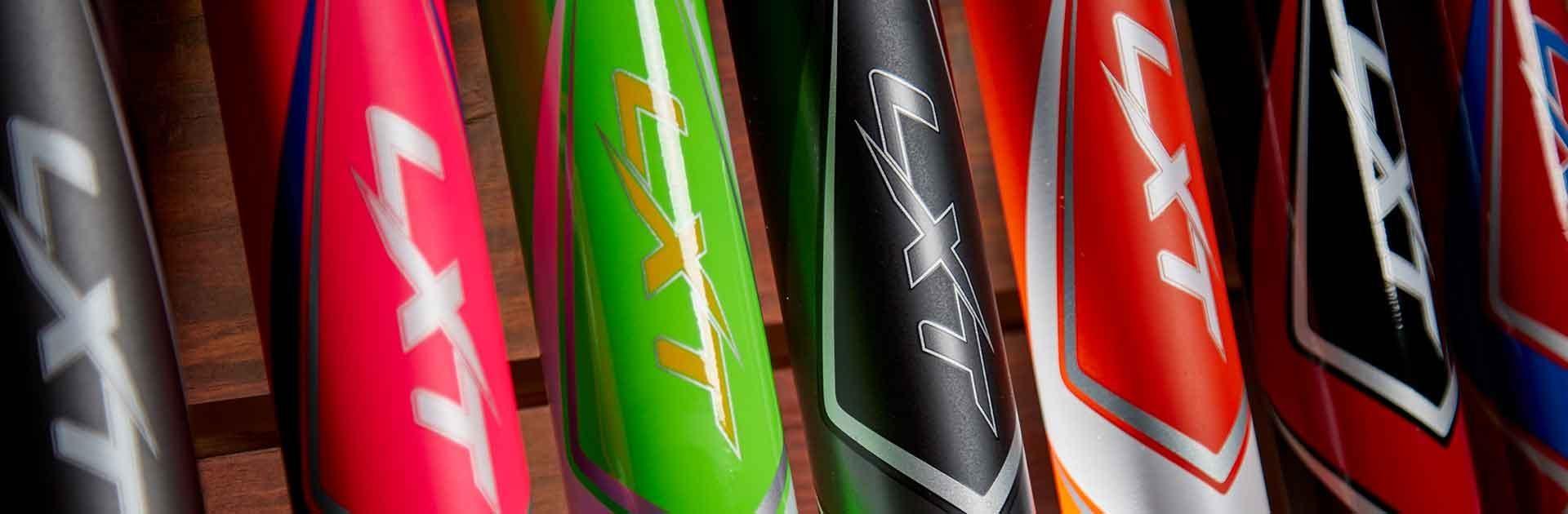 Slugger LXT Bat Lineup