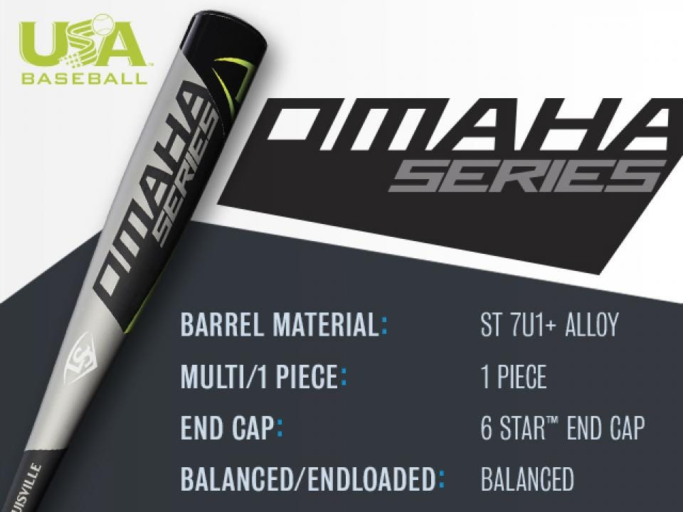 Omaha Series USA Baseball Bat | Louisville Slugger