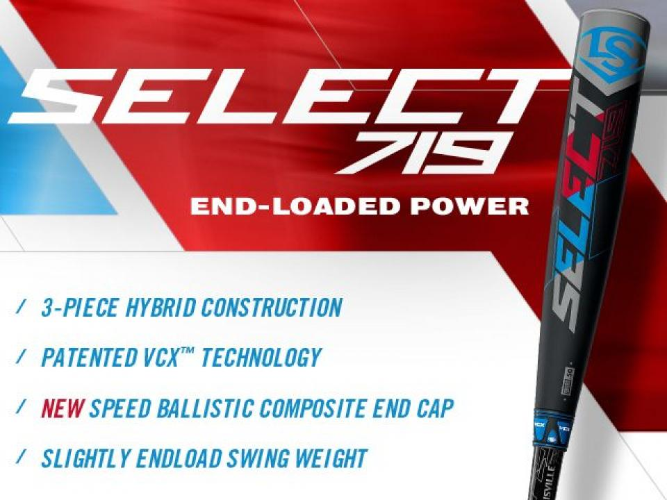 Select 719 Baseball Bat | Louisville Slugger