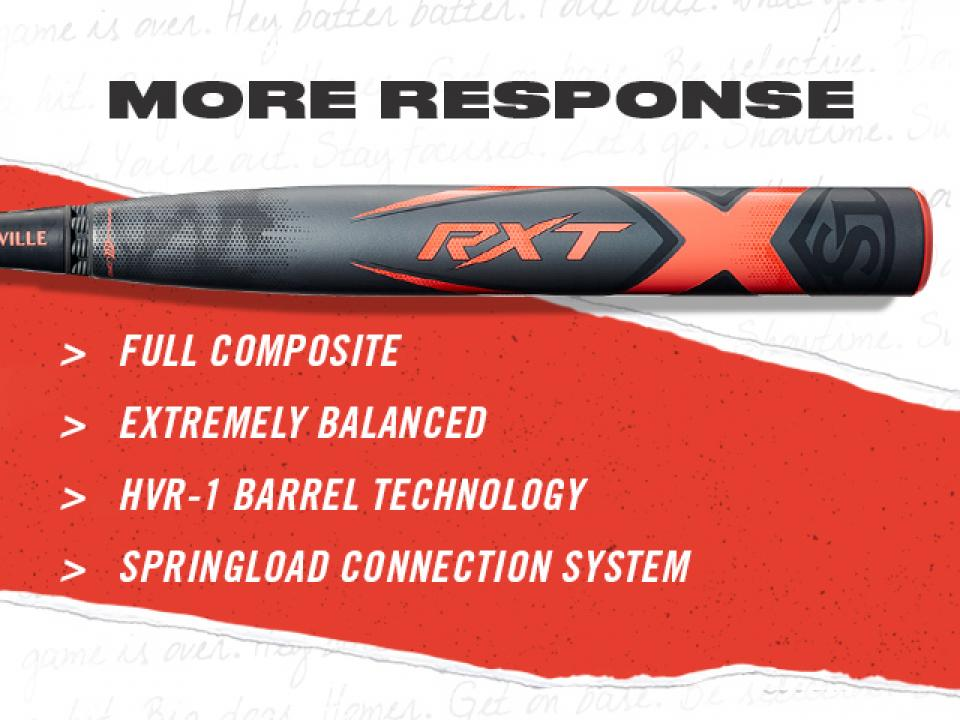 RXT Fastpitch Softball Bats