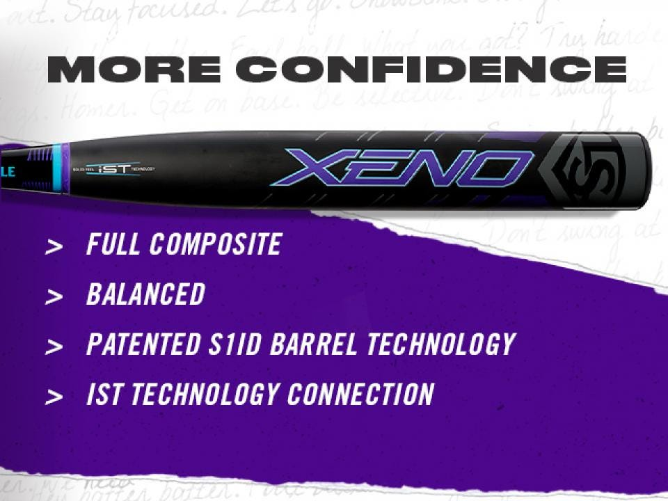 Xeno Fastpitch Softball Bats