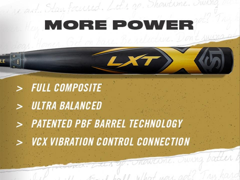 LXT Fastpitch Softball Bats